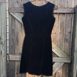 Vintage | velvet dress